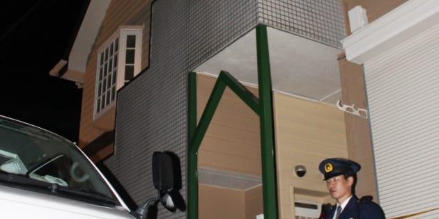 複数の遺体が見つかったアパート=31日、神奈川県座間市