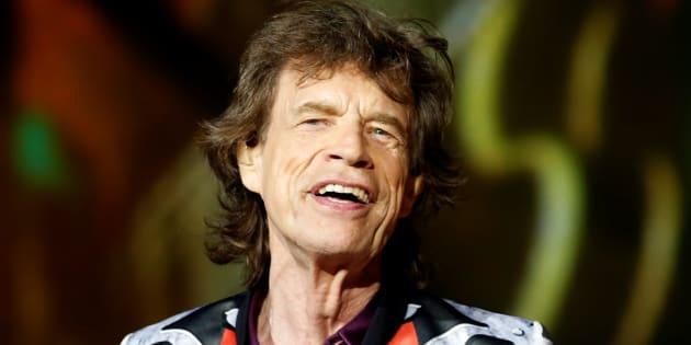 Mick Jagger, chanteur des Rolling Stones lors d'un concert à Marseille le 26 juin 2018.