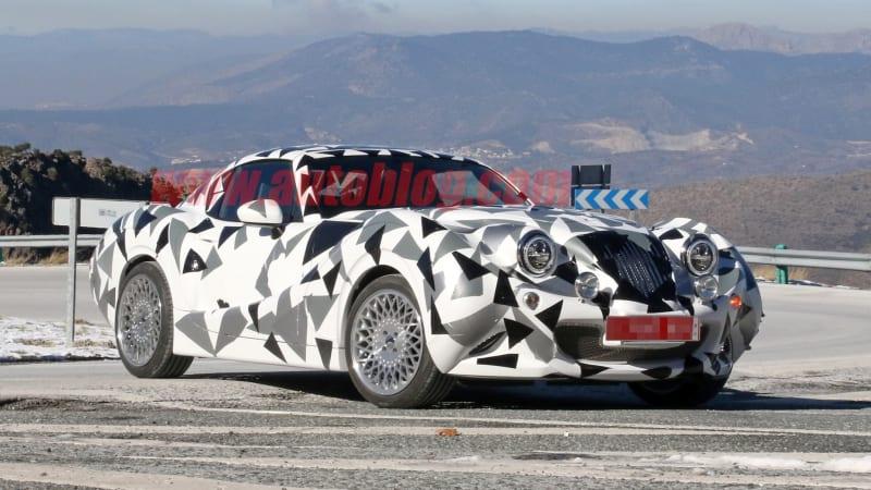 Hurtan засекла испытания новой модели с возможными двигателями Mazda