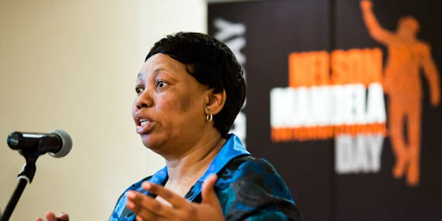 Minister of Basic Education Angie Motshekga.
