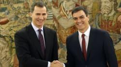 Sanchez presenta al re il suo governo: 10 donne e 5 uomini, lui