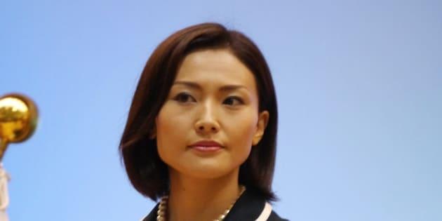 金子恵美氏=東京・霞が関 撮影日:2017年07月24日