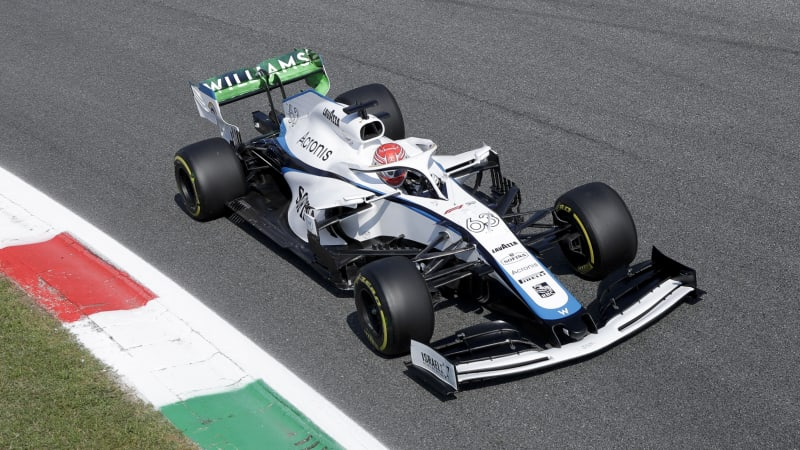Claire Williams Waved Her Cars Out For The Last Time At Monza Autoblog