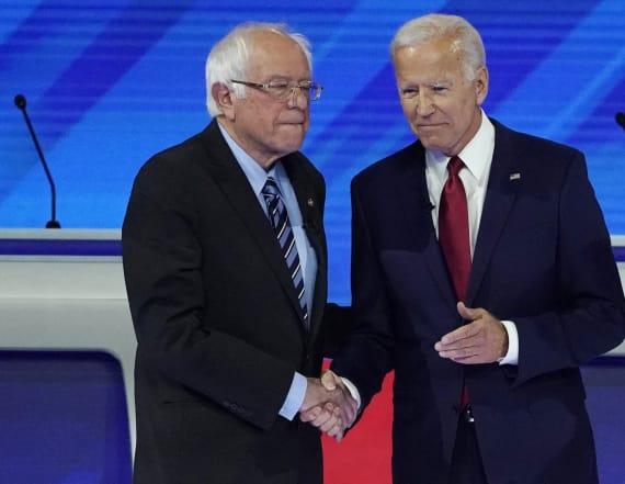 Sanders undermines Biden's claims on Social Security