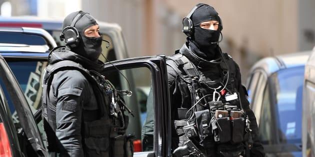 Des membres du RAID à Marseille le 18 avril (Photo d'illustration).
