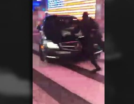 Cop dragged by car in NYC during traffic stop