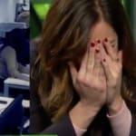 Mamen Mendizábal se lleva las manos a la cara por lo que vio en 'LaSexta