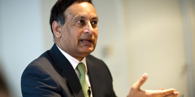 Husain Haqqani in 2011. Photographer: Joshua Roberts/Bloomberg via Getty Images