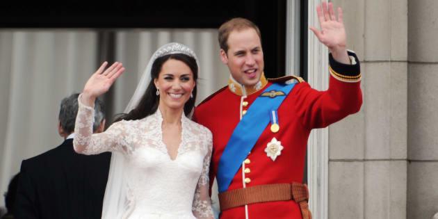 H M propone la versione low cost dell abito da sposa di Kate Middleton (a  meno di 200 euro) f2883bd872c
