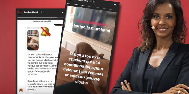 Une référence de Karine Le Marchand à la rixe d'Orly a poussé le rappeur de Boulogne-Billancourt à lui répondre et à partager leurs échanges privés.