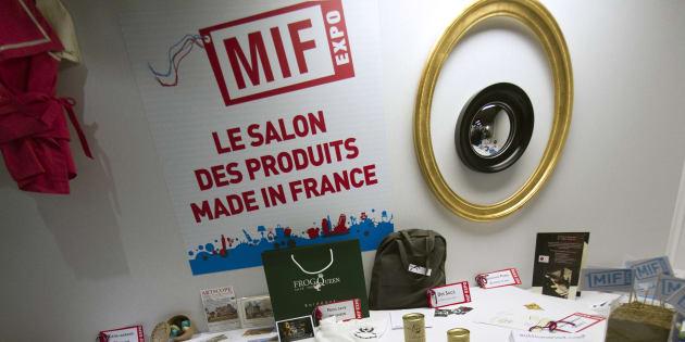 Des produits du salon du Made in France, qui a lieu les 18, 19 et 20 novembre 2016 à Paris.