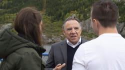 «On veut rester Québécois, allez-vous vous battre pour nous?» lance une électrice à