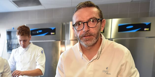 Sébastien Bras a la surprise de voir le nom de son restaurant réapparaître dans l'édition du guide Michelin 2019.