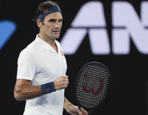 Who are you? Federer can't get past Open security