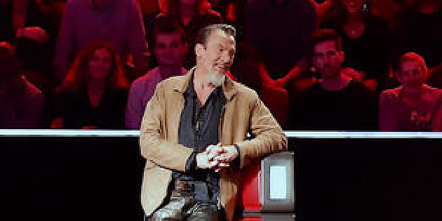 "Florent Pagny sur le plateau de ""The Voice 7"""