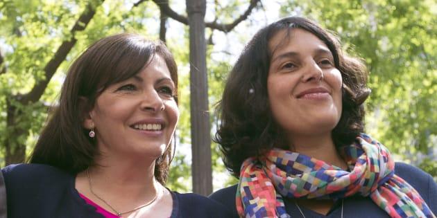 En 2014, Myriam El Khomri était la porte-parole d'Anne HIdalgo.