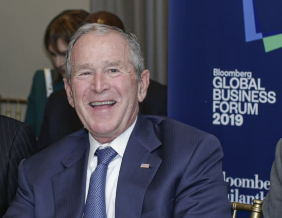 George W. Bush pays tribute to immigrants in book