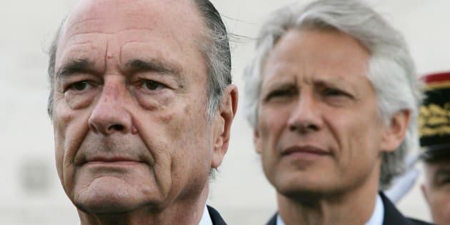 """Jacques Chirac est """"dans une forme aussi bonne que possible"""", assure Dominique de Villepin"""