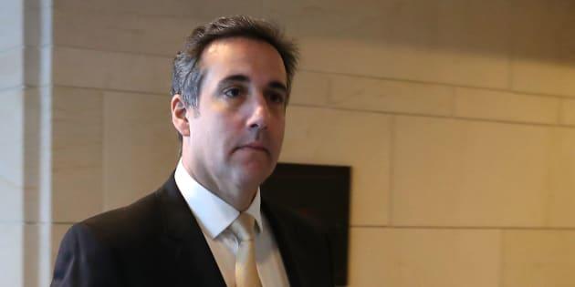 Photo d'archives Michael Cohen, l'avocat de Donald Trump.