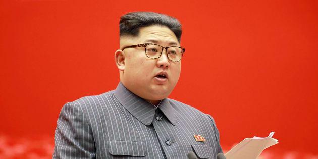 Kim Jong-Un à Pyongyang le 21 décembre 2017.