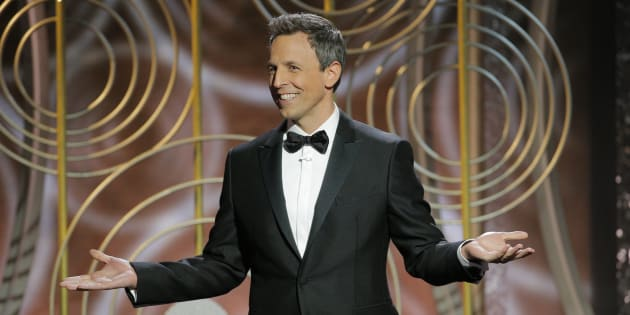 Golden Globes 2018: Seth Meyers n'a pas retenu ses coups contre Harvey Weinstein.