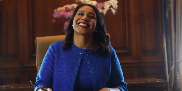 London Breed, première mairesse noire de San Francisco.