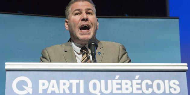 Le chef par intérim du PQ, Pascal Bérubé.