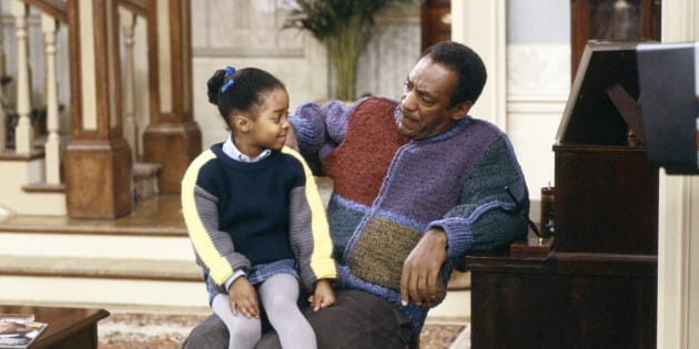 NBC via Getty Images Keshia Knight Pulliam as Rudy Huxtable, left, and Bill Cosby as Dr. Heathcliff 'Cliff' Huxtable, right. Cosby was found guilty of three felony counts of aggravated indecent assault on Thursday.