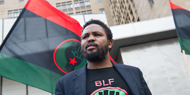 Black Land First (BLF) leader Andile Mngxitama.