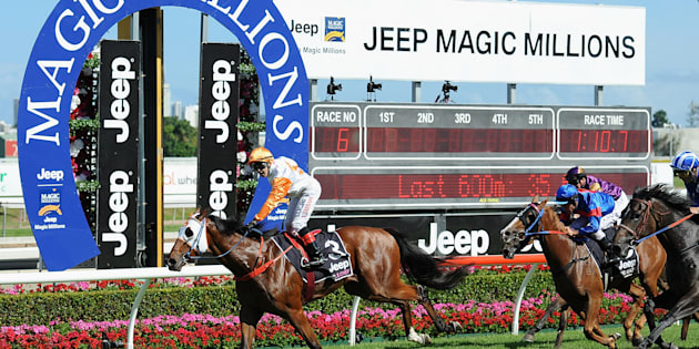 Australia's richest day of racing is underway on the Gold Coast.