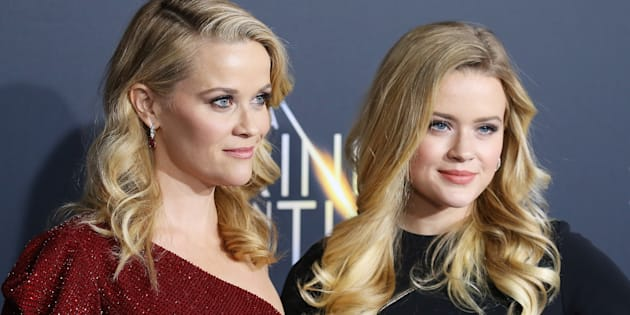 Reese Witherspoon y su hija Ava Phillippe.