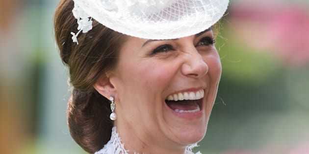 Catalina, la duquesa de Cambridge, en la primera jornada de las carreras hípicas de Ascot de 2017.