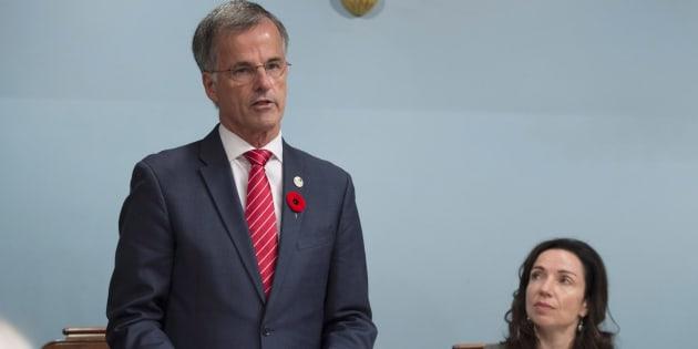 Guy Ouellette veut réintégrer le caucus libéral