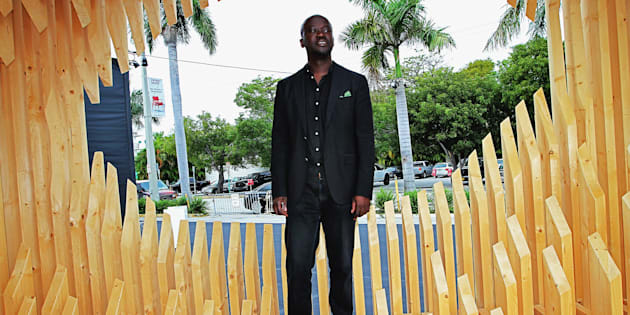 David Adjaye at the Miami Beach Convention Centre in 2011  Photo: Alexander Tamargo/Getty Images for Design Miami