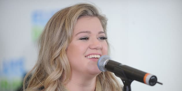 Kelly Clarkson performs at 'The Elvis Duran Z100 Morning Show' at Z100 Studio on Sept. 13, 2017 in New York City.