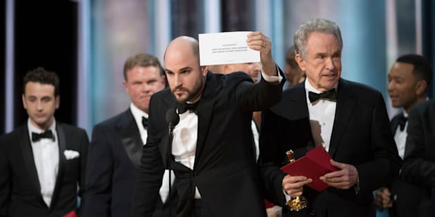 'La La Land' was mistakenly handed the Oscar for Best Picture