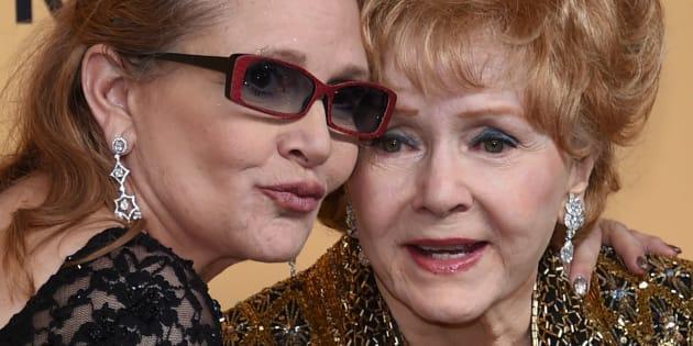 """""""Je veux être avec Carrie"""", les derniers mots de Debbie Reynolds"""