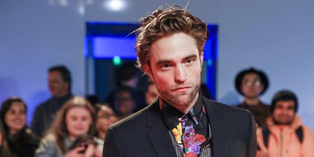 """Robert Pattinson à la première de """"High Life"""" à Toronto."""