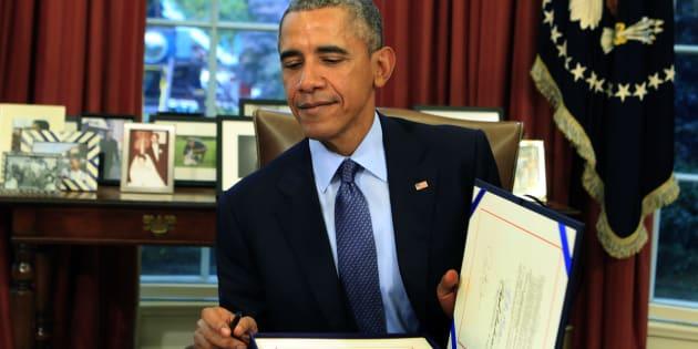El expresidente de Estados Unidos, Barack Obama, en una imagen de archivo de noviembre de 2015.