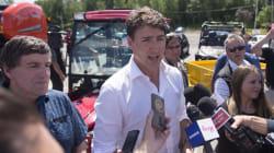 De passage au Saguenay, Justin Trudeau continue de défendre la gestion de