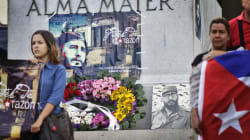 With A Cry Of 'Viva Fidel!', Cubans Begin Mourning For