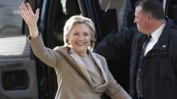 Vestidos para ganar: así se dejaron ver los Clinton en las