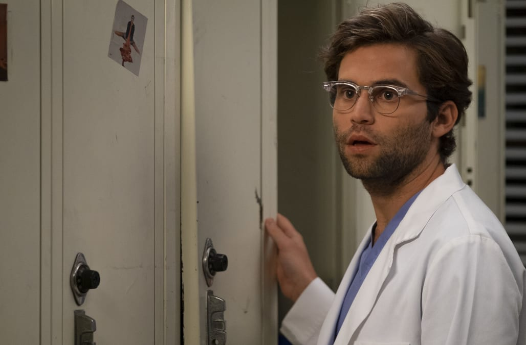 Greys Anatomy Actor Jake Borellis Character Came Out As Gay Then