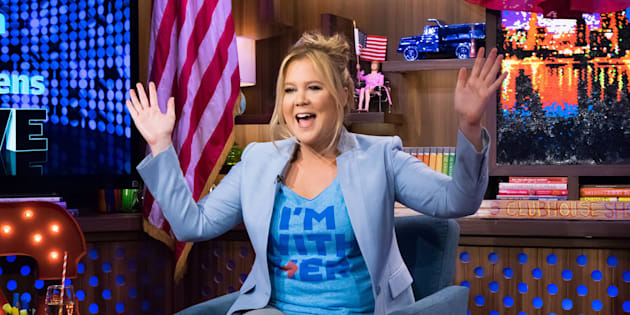 Amy Schumer has made it clear she's #WithHer.