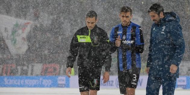 Troppa neve su Torino, rinviata Juventus Atalanta