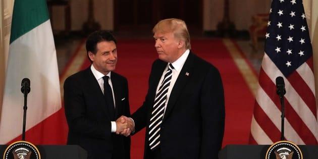 Italie: Donald Trump applaudit la politique Giuseppe Conte sur les migrants.