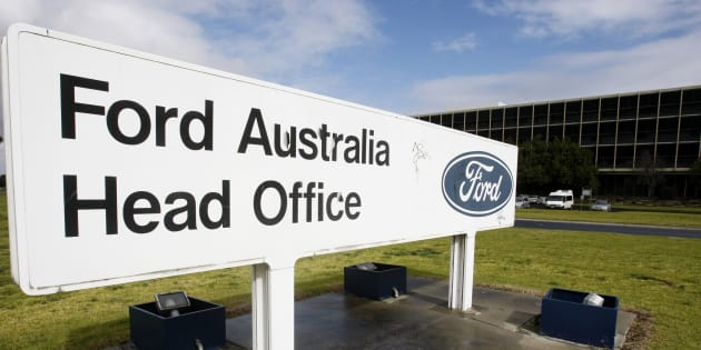 Ford Australia's head office in Melbourne.
