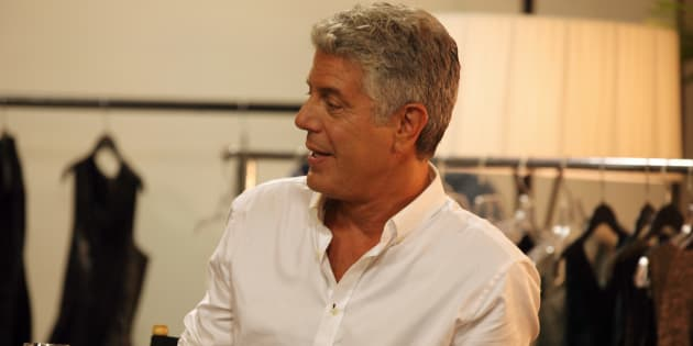 Anthony Bourdain in ABC's 'The Taste,' which ran from 2013 to 2015.