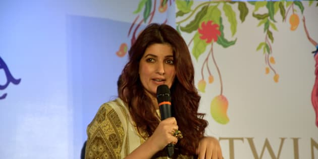 Twinkle Khanna at the launch of her second book, The Legend of Lakshmi Prasad, published by Juggernaut Books.