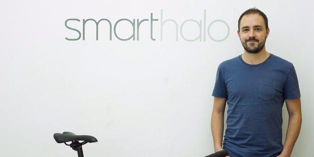 Le co-fondateur de SmartHalo Xavier Peich